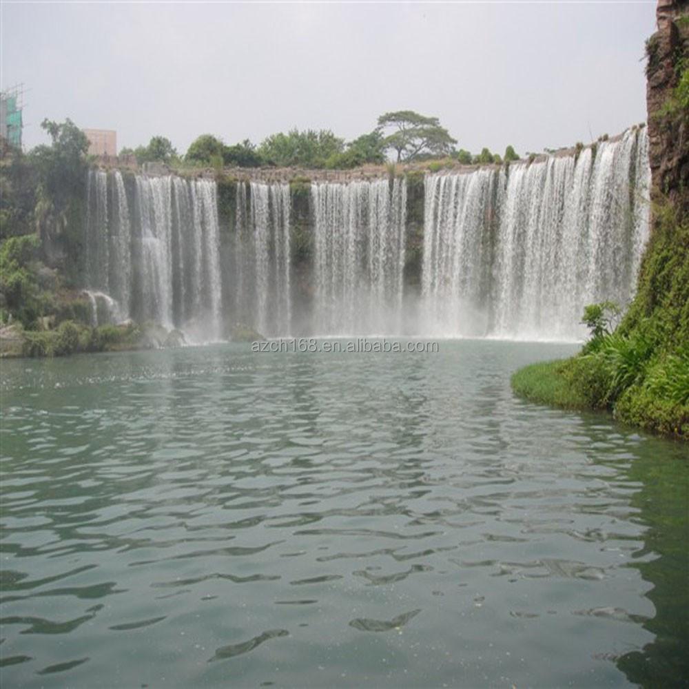 Parque o jard n fuente de agua p blica cascadas for Cascadas de agua artificiales para jardin