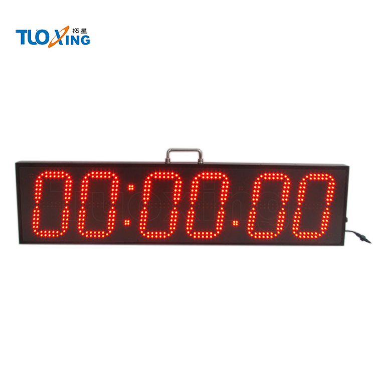 Stoppuhr aus Metall 1//1000 Sekunde digitale Sport-Stoppuhr mit Hintergrundbeleuchtung//Countdown-Timer//gro/ßes Display//Wecker regendicht