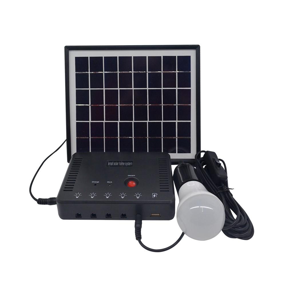Mini 4W 6V Ngoài Trời Năng Lượng Mặt Trời Power Panel 36 Led Chiếu Sáng Sạc Đèn Vườn Nhà Năng Lượng Hệ Thống Kit Cho bóng Đèn Led Và Bộ Sạc Điện Thoại