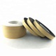 EVA Kraft paper 1mm thick black adhesive foam tape for sealing