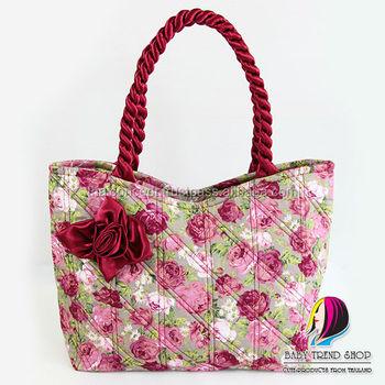 Handbags Vintage Fl Tote Bags