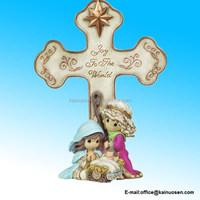 Precious Moments Nativity Wall Cross