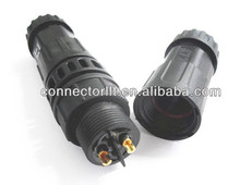 Plug socket 2 pin exterior cable connector M19