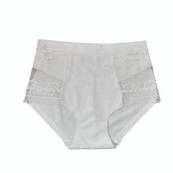 68ec7051353 Latex white womens lace panty good quality lady lace panties seamless nylon  spandex underwear for women