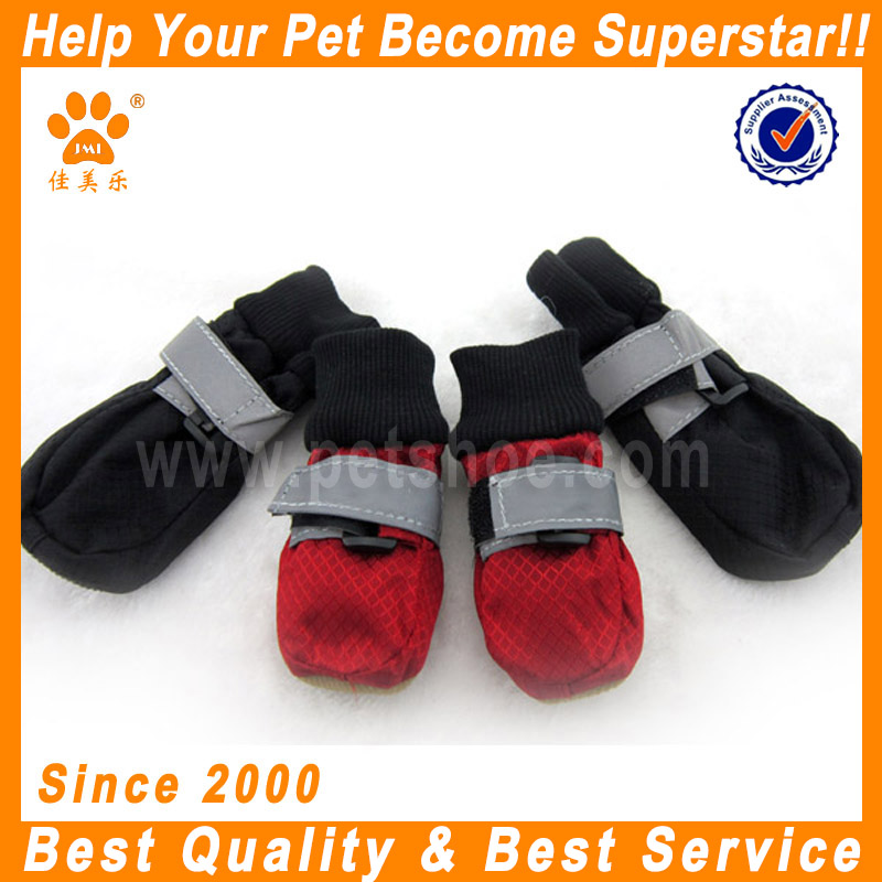 JML new arrival wholesale winter waterproof dog boots with fleece inner running shoes boots