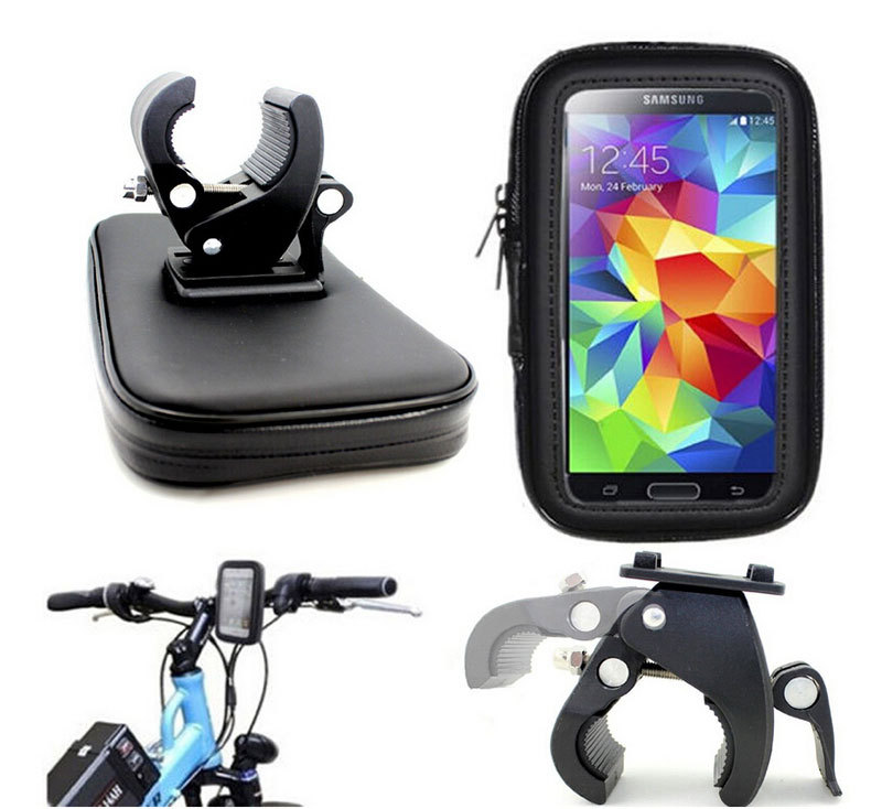 Waterproof Case Bag Bicycle Bike Mount Holder for iPhone6 Plus for Smartphones 5 1 5 5
