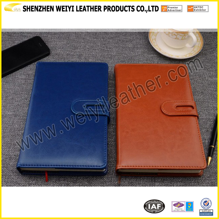 Wholesale Dairy Agenda Custom Business Gift The Top Quality PU Leather Refill A5 Buy Notebook In China