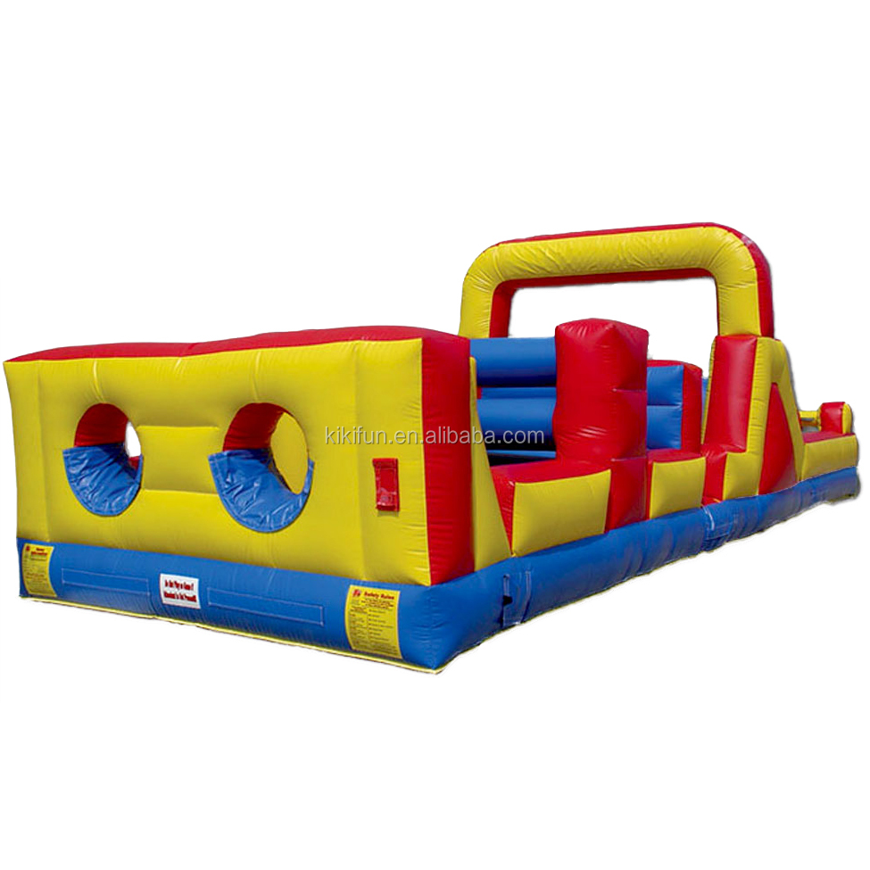cheap adults inflatable obstacle course / custom inflatable water obstacle course for sale / amusement park inflatable obstacle