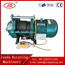 Crane lifting motor 0.3-2ton small electric wire rope hoist