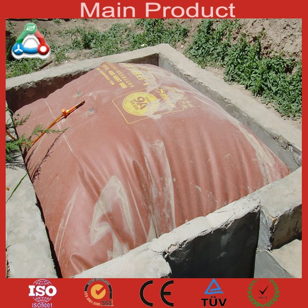 Easy To Install Biogas Digester Portable Folding Collapsible Super Strong PVC Methane Prices