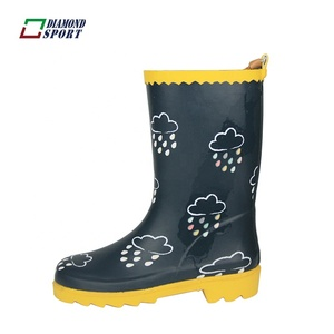 Keep warm color change boys waterproof winter welly boots