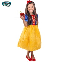 New Sofia Snow White Princess Dress Kids Girls Cosplay Party Fancy Costume