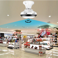 1.3MP 2.0MP Wifi Panoramic fisheye 360 degree Camera Wireless IP Light CCTV Camera Smart Home 3D VR Home Security WIFI Camera