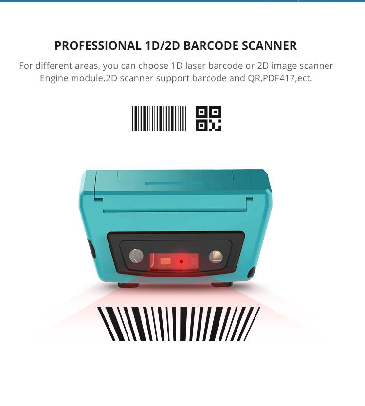 محمول NFC واي فاي المحمولة محطة أندرويد المساعد الشخصي الرقمي الباركود الماسح الضوئي جامع البيانات