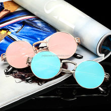 high quality vintage steampunk sunglasses round retro metal sunglasses