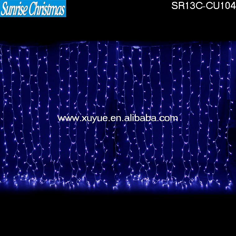 Outdoor Decoration Addressabl Led Waterfall Christmas Lights