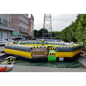 Inflatable meltdown sale game,inflatable wipeout course for sale