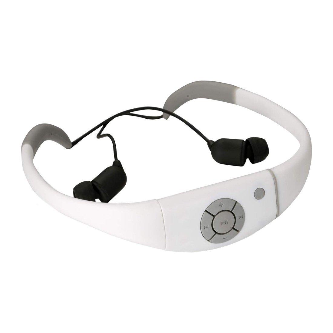 SODIAL(R) Waterproof Mp3 Headset Music Player, 8gb Memory Hi-fi Stero Earphone with Fm Radio