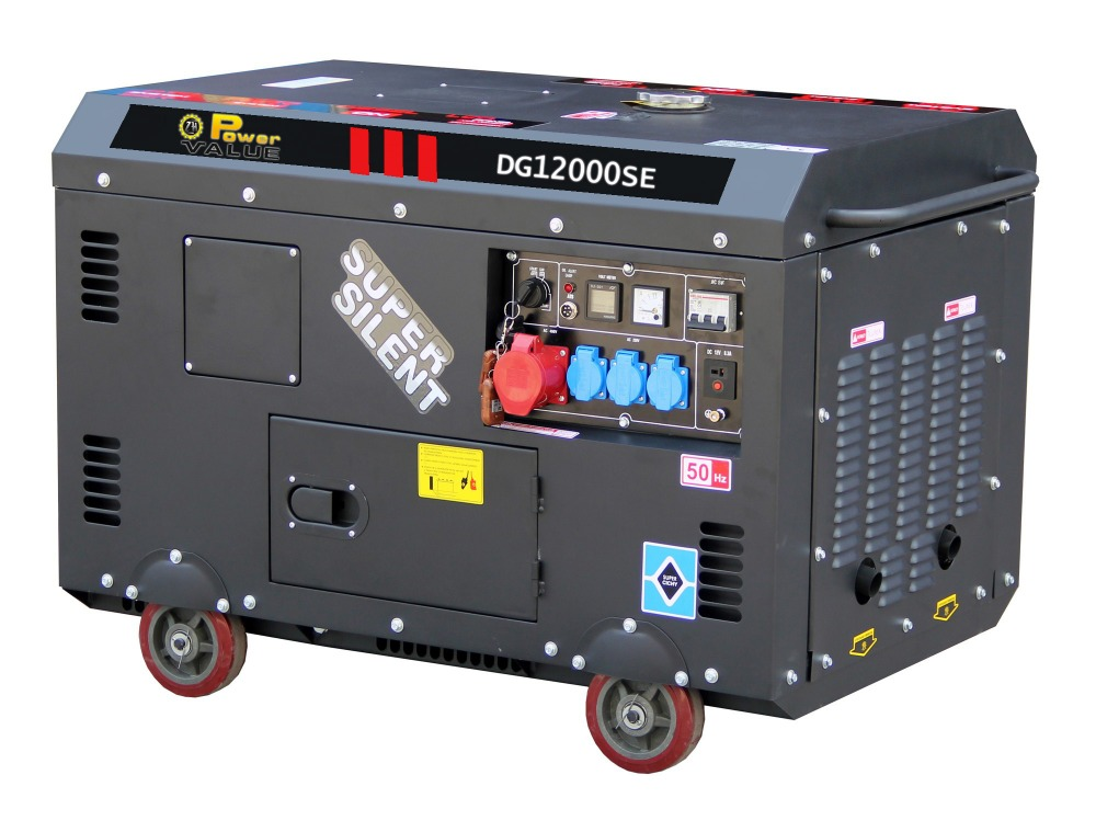 Small Electric Generator : Electric generator power small fuel less kw kva diesel