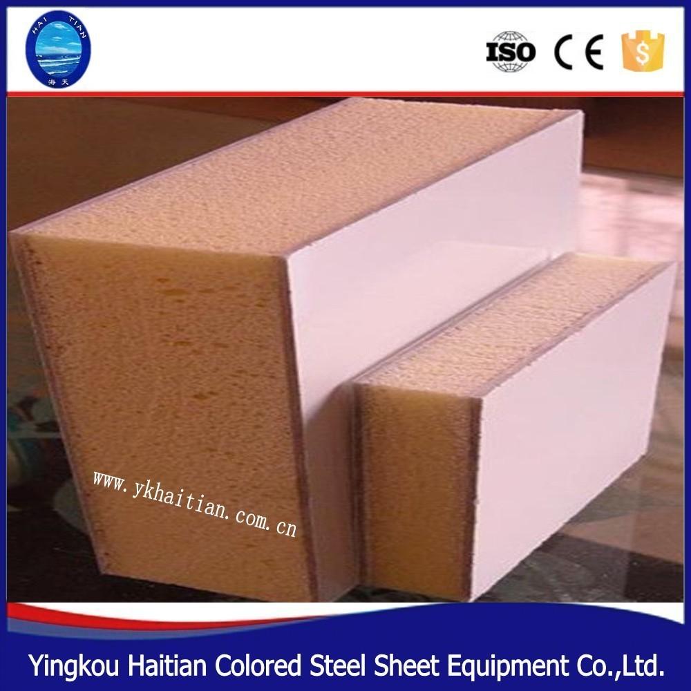 polyur thane panneau sandwich d 39 isolation thermique plaque sandwich id de produit 60265905799. Black Bedroom Furniture Sets. Home Design Ideas
