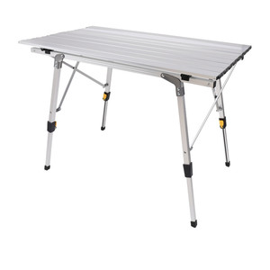 Aluminum Height Adjustable Camping Outdoor Lightweight Folding Table