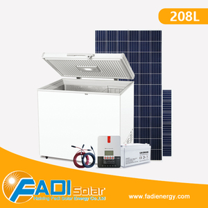 Durable Affordable Bankable DC Chest Deep Solar Freezer