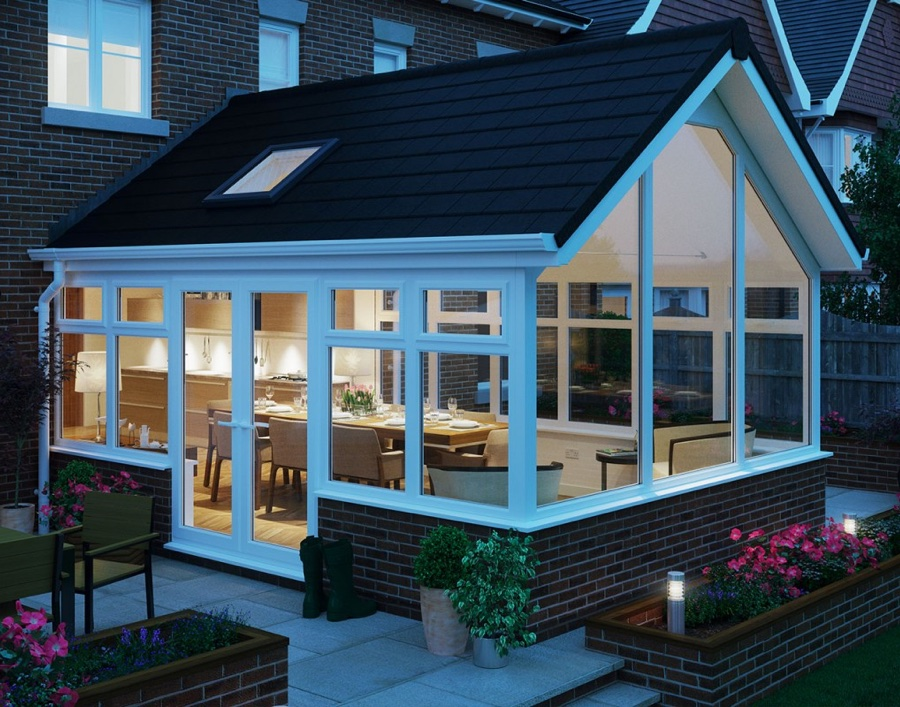 3x3 Gable Roof Design Self Build Lowes Sunrooms Panels Conservatories Kits Uk View Prefabricated Glass Conservatory Top Window Product Details From Guangdong D Top Industry Co Limited On Alibaba Com