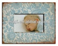 Shabby chic decorative wood picture frame