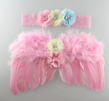 Factory Direct feather wings factory supply small feather angel wings