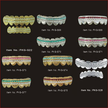 2013 Fashion Gold Teeth Grillz With Crystals - Buy Grillz Teeth 7769adc50