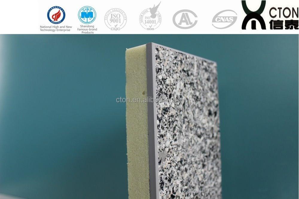 Exterior decorativo panel de pared s ndwich de poliuretano - Panel decorativo poliuretano ...