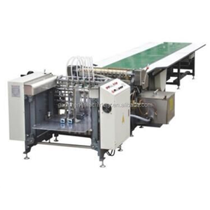 GS-650A Paper glue Cold glue box gluing machine with hot melt glue