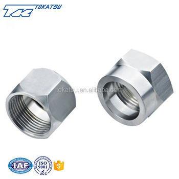 Wholesale custom high quality crimp nut stainless steel fittings
