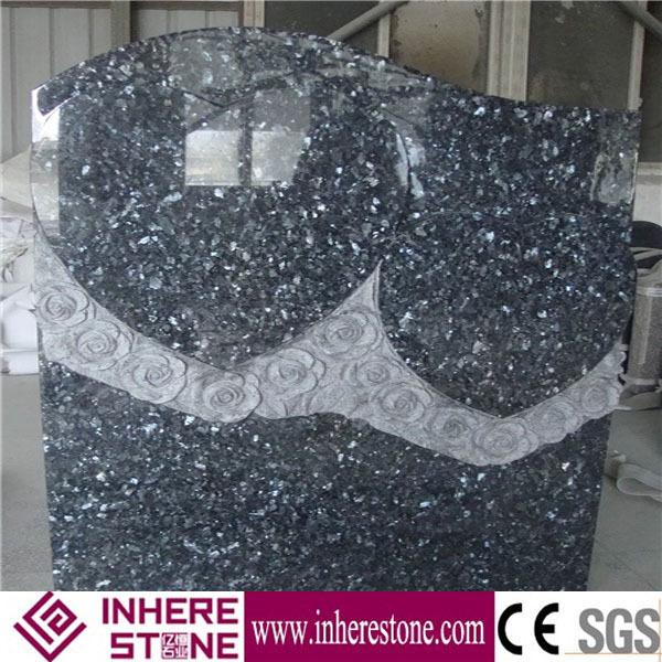 polen stil blue pearl granit grabstein buy product on. Black Bedroom Furniture Sets. Home Design Ideas