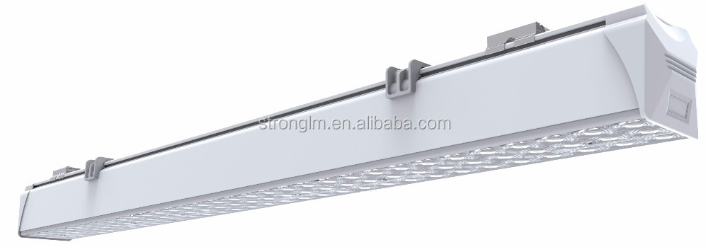 Trunking System link one by one without gap different lens 25 60 90 DALI 0-10v Dimming led linear light CE ROHS approved