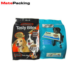 Customized Back Seal Package Pouch Pet Food Plastic Chips Packaging Bag