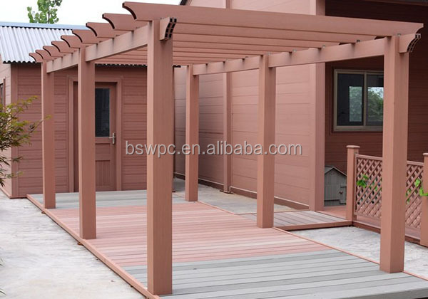 Wood Plastic Composite Planks WPC Wall Panels