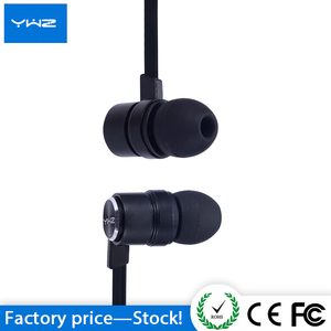Hot Sell mini stereo handfree fashion style super bass dj microphone wired Metal in ear earphone
