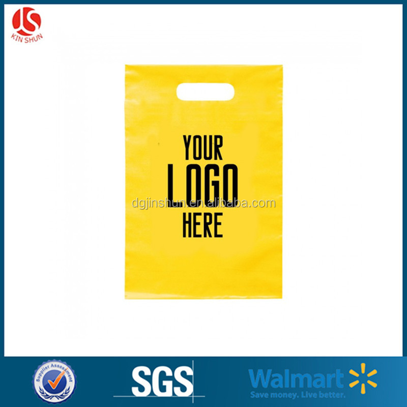 gravure printing and heat sealing shopping use plastic bag with custom logo printing