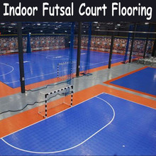 Indoor futsal court flooring Assembling sports floor