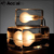 Simple antique glass globe light covers ice lamp for living room