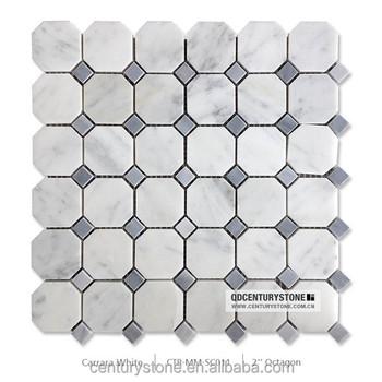 2 X2 Grey Mma Octagon White Carrara