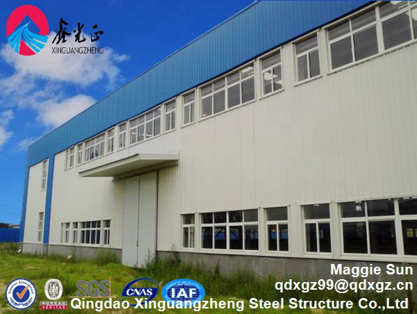 Light steel structure erection workshop and fabrication warehouse