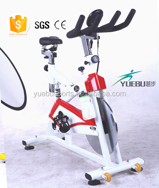 Digital Display cheap home gym exercise equipment commercial fitness bike rocking spin bike
