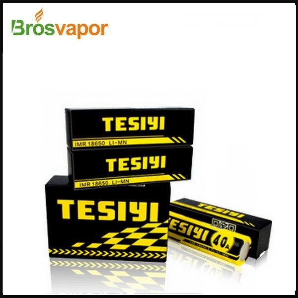 Hot sale TESIYI ICR 18650 2600mah 40A Rechargeable High rate Li-ion battery in stock