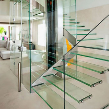 Modern House Grand Staircase Gl Steps Design Stairway