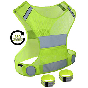 Wholesales High quality custom cycle reflective running vest sport Cycling Clothing