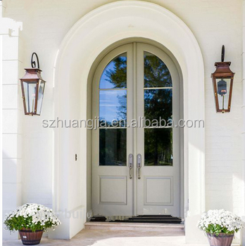 Nice Arched Double Entry Doors Wood Doors Part 14
