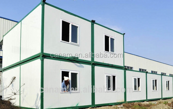 CANAM-Bright long life prefab broilers shed two storey prefab house plan