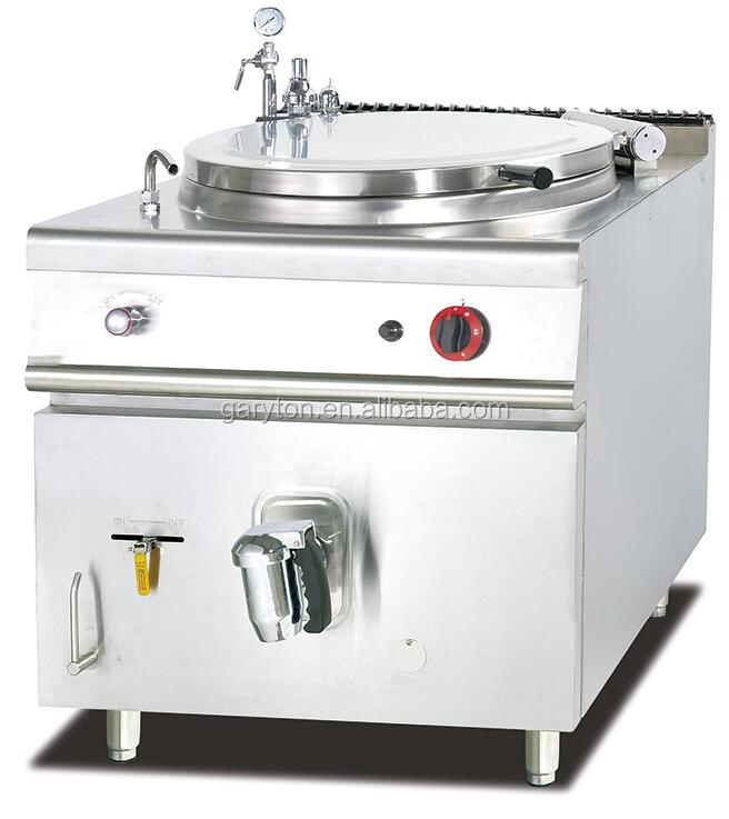 GRT-GH-981 Commercial Kitchen Cooking Equipment Gas Soup Kettle 100kg